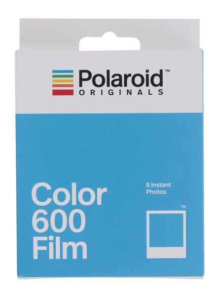 8 films Polaroid color pour Originals Vintage 600 et appareil photo i-Type - 61100013 - HEMA