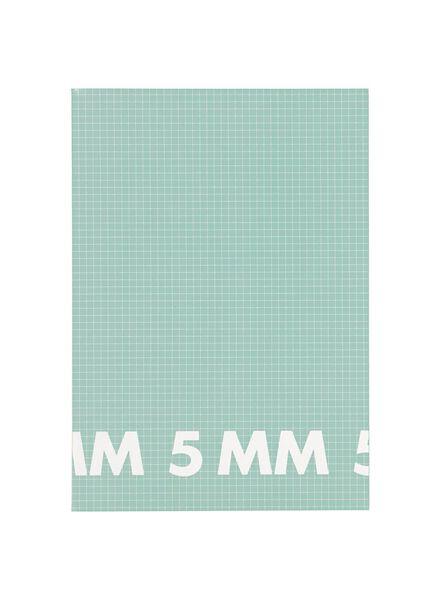 3er-Pack Hefte, DIN A4, kariert (5 x 5 mm) - 14101614 - HEMA