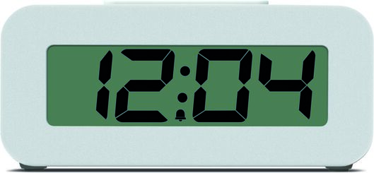 Image of HEMA Alarm Clock Digital (white)
