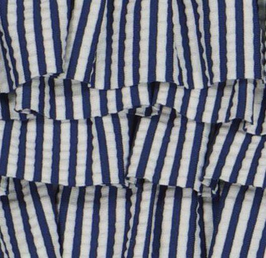 bikini seersucker bleu foncé bleu foncé - 1000018210 - HEMA