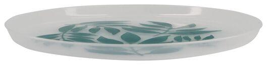4er-Pack Kuchenteller, Ø 22.2 cm, Blätter, wiederverwendbar - 14200570 - HEMA