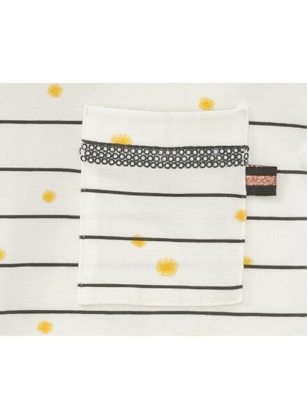 children's T-shirt off-white off-white - 1000006275 - hema