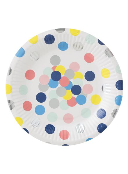 8-pack small paper plates - 14230062 - hema