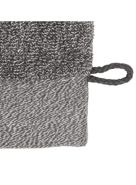 wash mitt - bamboo - dark grey dark grey wash mitt - 5200133 - hema