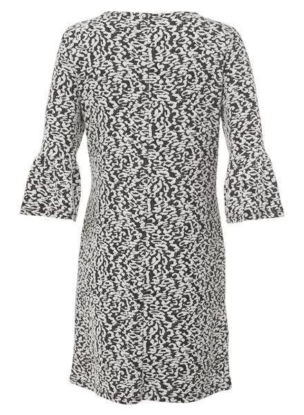 women's dress black/white black/white - 1000007360 - hema