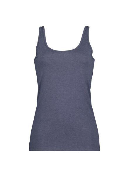 débardeur femme bleu foncé bleu foncé - 1000014515 - HEMA