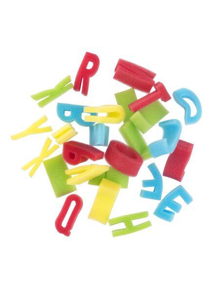 tampons éponges alphabet - 15980125 - HEMA