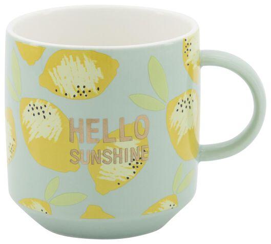 mug Ø8cm 250ml citron - 61140122 - HEMA