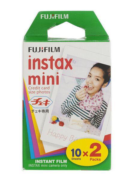 Colorfilm Instax Mini Glossy (2 x 10/Pack.) - 60300125 - HEMA