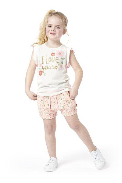 Kinder-Shorts rosa rosa - 1000019028 - HEMA