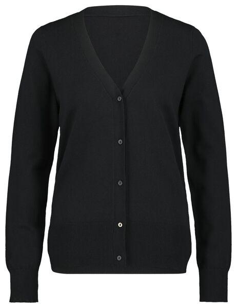 Damen-Cardigan schwarz M - 36344787 - HEMA