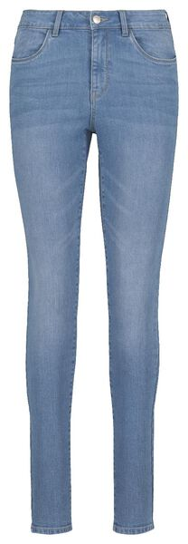women's jeans - skinny fit light blue light blue - 1000018244 - hema