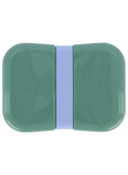 Brotdose mit Gummiband, hellblau - 80610105 - HEMA