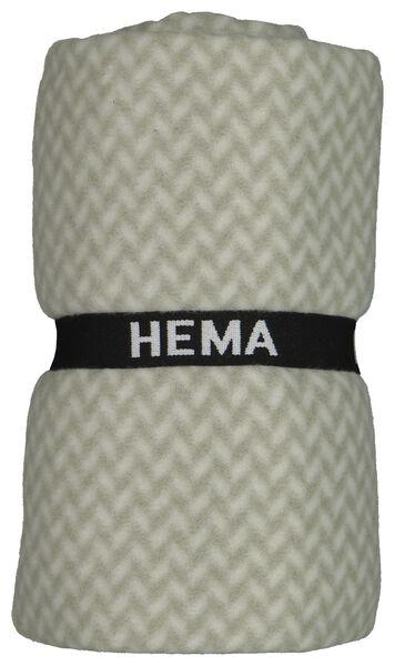 fleece plaid 130x150 menthe - 7322019 - HEMA