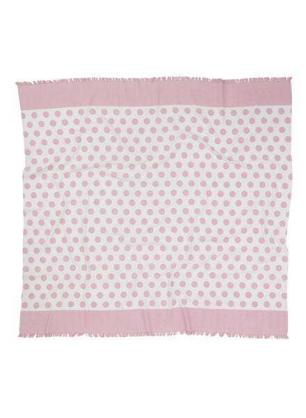 hammam cloth 160 x 180 cm pink 160 x 180 - 5210046 - hema
