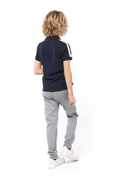 children's sweatpants grey melange grey melange - 1000017703 - hema
