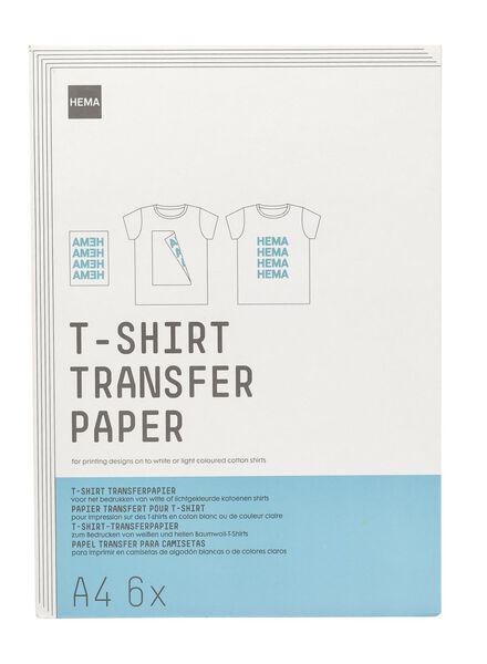 papier transfert t-shirt - 38340082 - HEMA