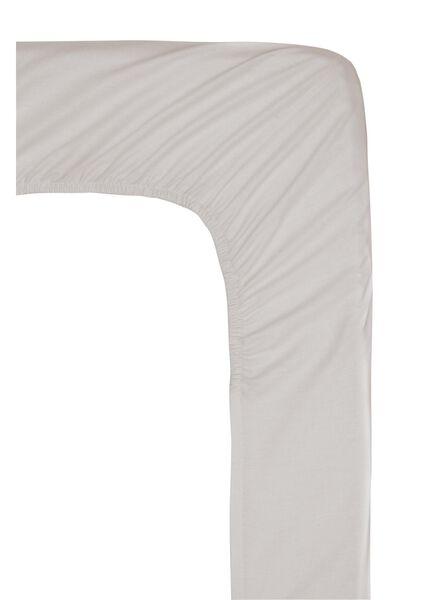 drap-housse - hôtel coton satin - 90x200 cm - sable - 5100168 - HEMA