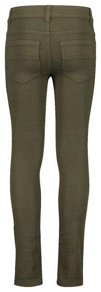 Kinder-Jeans, Comfy Fit dunkelgrün dunkelgrün - 1000017879 - HEMA