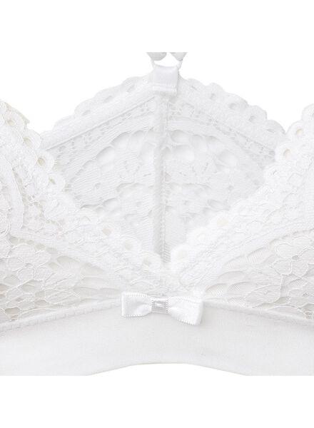 non-padded bra white white - 1000006578 - hema