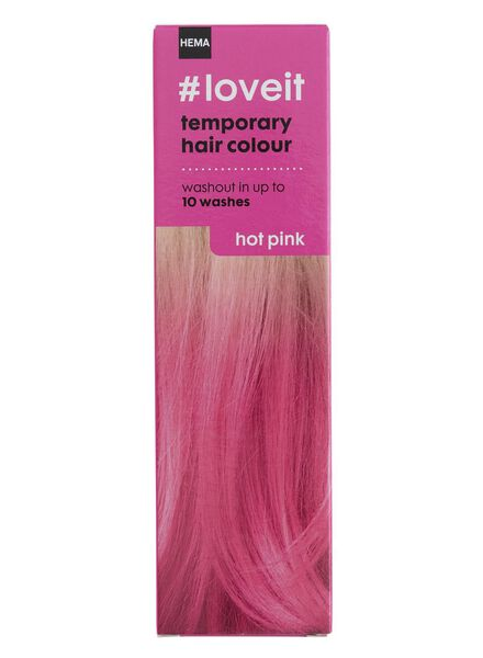 coloration cheveux temporaire hot pink - 11030004 - HEMA
