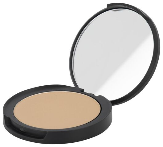 mattifying face powder 03 warm beige - 11290153 - HEMA