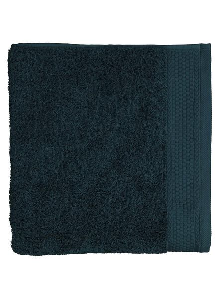 towel - 60 x 110 - hotel extra heavy - deep green dark green towel 60 x 110 - 5200139 - hema