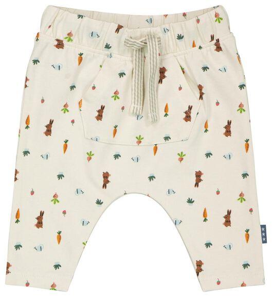 Newborn-Hose, elastische Biobaumwolle weiß weiß - 1000023560 - HEMA