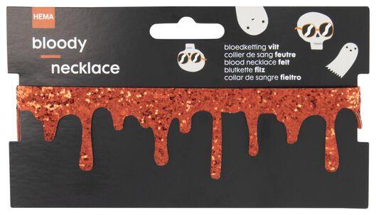 Image of HEMA Necklace Blood Halloween