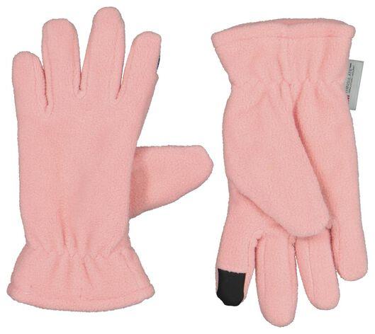 HEMA Kinderhandschoenen Met Touchscreen Roze (roze)