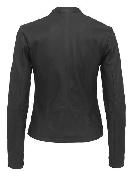 veste cuir femme noir noir - 1000010598 - HEMA