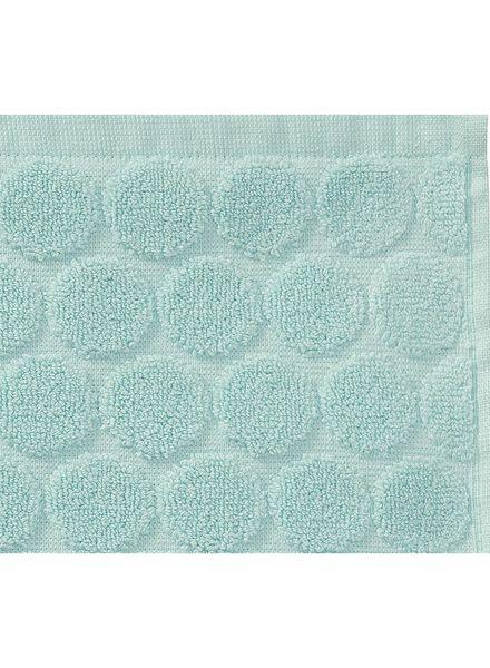 towel - 70 x 140 cm - heavy quality - mint green dotted mint green towel 70 x 140 - 5240175 - hema