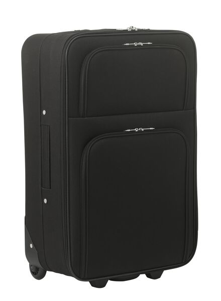 koffer - 62 x 42 x 23 - zwart - 18600252 - HEMA