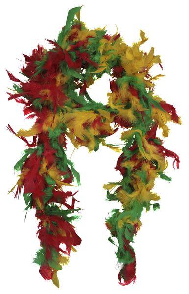 Federboa, 150 cm, rot/gelb/grün - 25290037 - HEMA