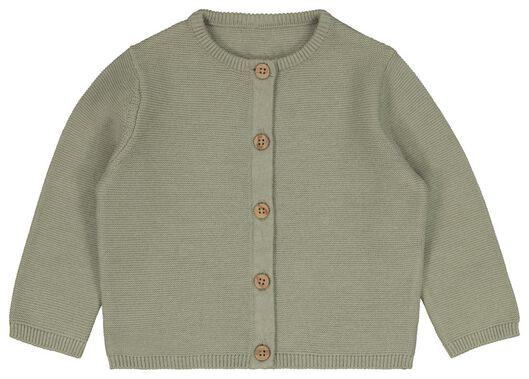 Baby-Cardigan grün grün - 1000023530 - HEMA