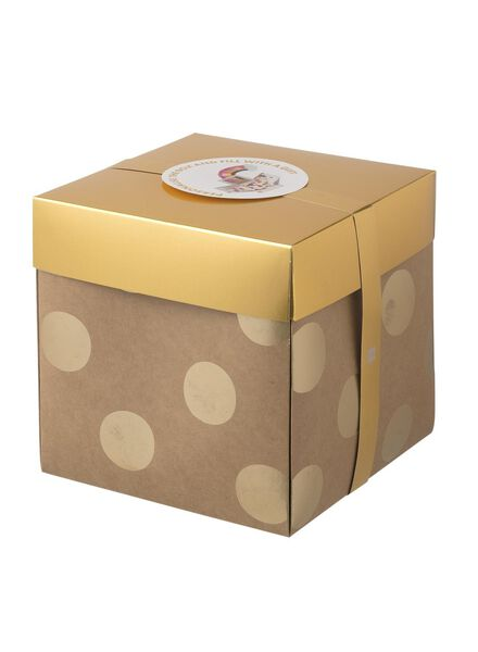 boîte surprise extra grande 20 x 20 x 20 cm - 60800616 - HEMA