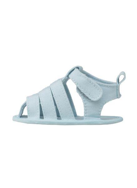 baby sandals light blue light blue - 1000006750 - hema