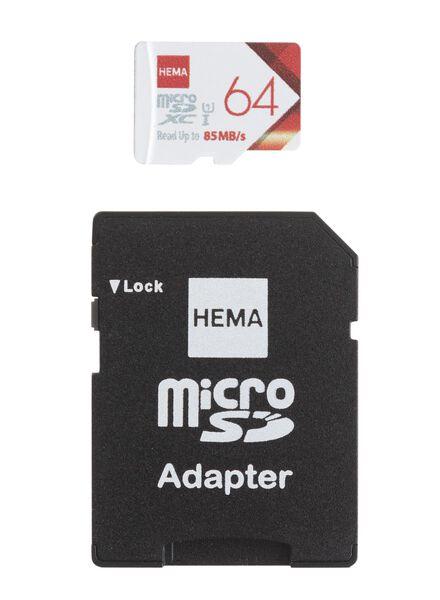 Carte mémoire micro SD 64 Go - 39520012 - HEMA