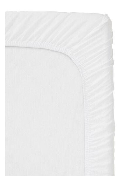 Spannbettlaken Topper - Baumwolljersey - 180x220cm - weiß weiß 180 x 220 - 5100157 - HEMA