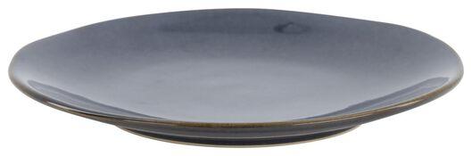 breakfast plate - 20 cm - Porto - reactive glaze - dark blue - 9602216 - hema