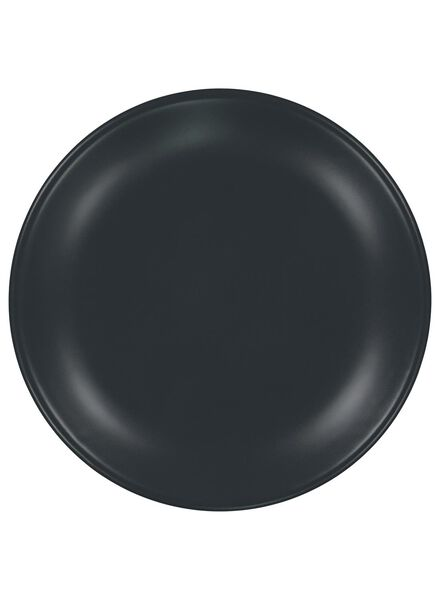 ontbijtbord - 20 cm - Amsterdam - mat grijs - 9602006 - HEMA