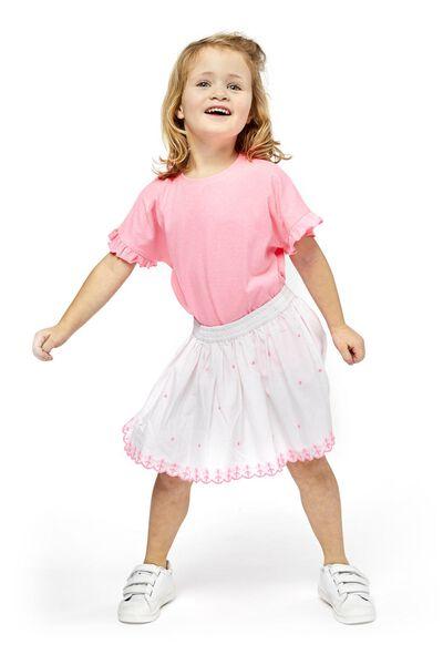 children's skirt white white - 1000019026 - hema