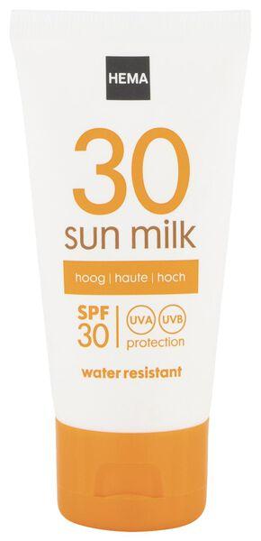 sun milk mini SPF 30 - 11610171 - hema