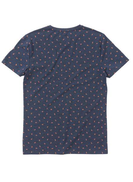 men's T-shirt blue blue - 1000005959 - hema