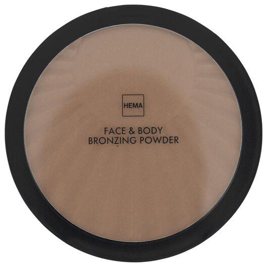bronzer face & body 01 hello sunny days - 11290221 - HEMA