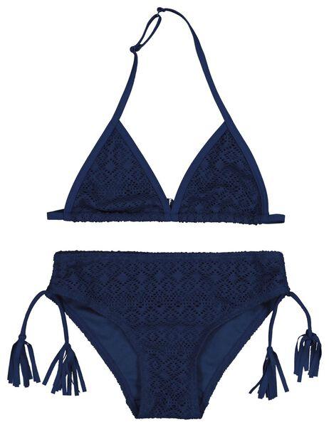 children's bikini triangle dark blue dark blue - 1000018205 - hema