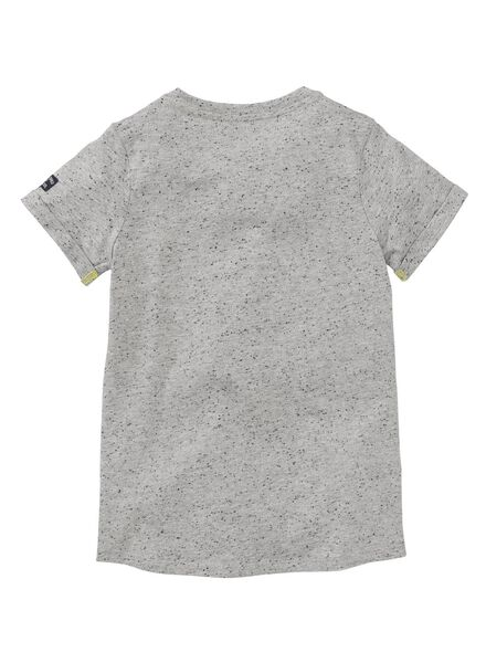 children's T-shirt grey melange grey melange - 1000006730 - hema