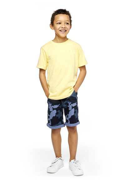 children's T-shirt yellow yellow - 1000018864 - hema
