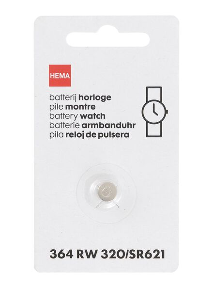 Uhrenbatterie, Typ 364 RW 320/SR621 - 41290286 - HEMA