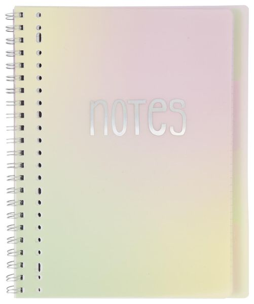 lecture notebook 4-in-1 A4 ruled - 14502177 - hema